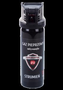 Gaz pieprzowy Terminator 50 ml strumień żel